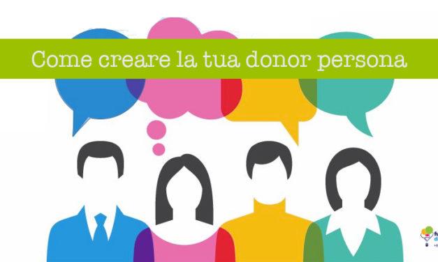 Definire la donor persona in 5 passi