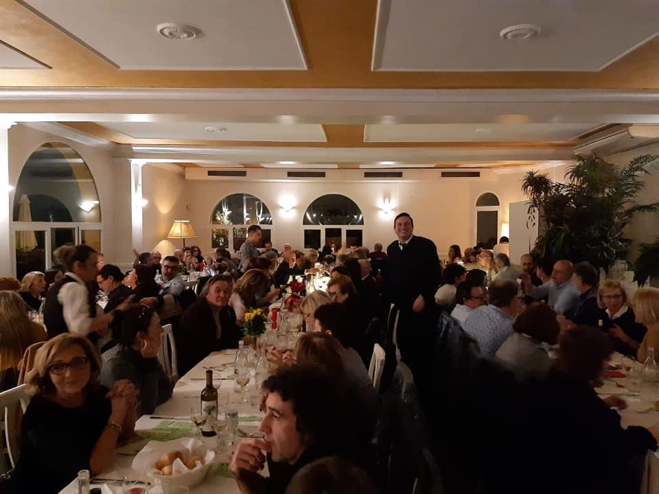 cena di beneficenza organizzata da 26 aprile per raccogliere fondi per il progetto chernobyl